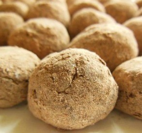 French Cocoa Snowballs