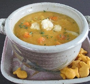 Sept. 29:  Creamy Cauliflower Soup