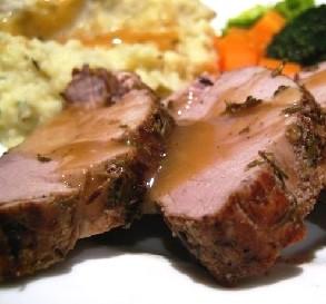 Pork Tenderloin Dinner