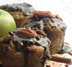 Oct. 7:  Apple & Spice Bread Pudding