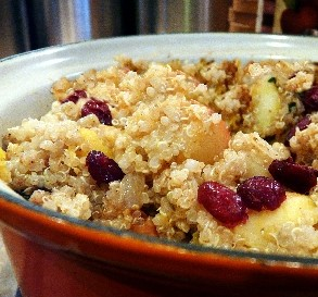 Oct. 16:  Quinoa Winter Salad