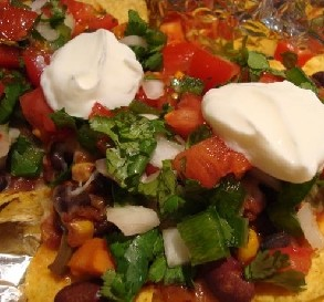 Quick & Easy Vegetarian Nachos