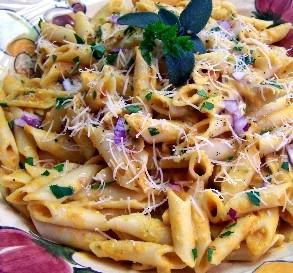 Nov. 20:  Creamy Pumpkin Pasta