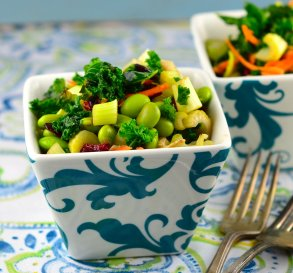 Nov. 6:  Kale Salad With Tahini Dressing