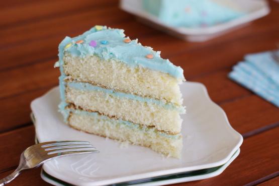Magnolia Bakerys Vanilla Birthday Cake And Frosting Recipe - Food.com