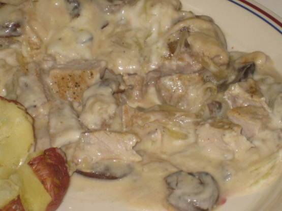 Pork chops and campbells mushroom soup recipes