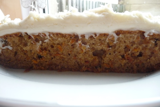 Sourdough carrot cake recipe