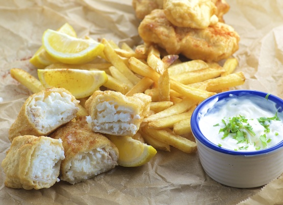 Fish and chips recipe genius kitchen for Best fish and chips in san diego
