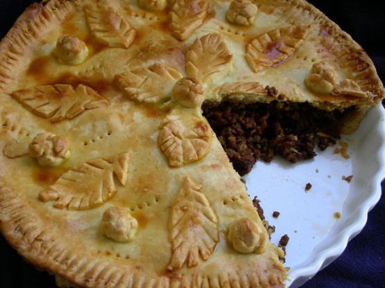 Recipes meat pie