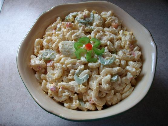 Paula deen shrimp pasta salad recipe