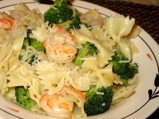 Broccoli Shrimp Pasta Toss Recipe Genius Kitchen