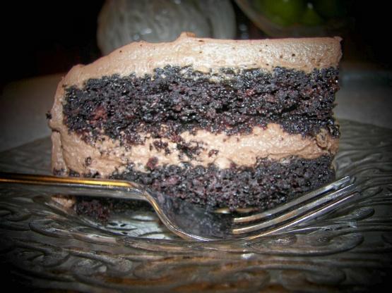 Chocolate water cake recipe