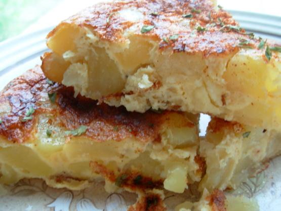 Potato omelette recipes