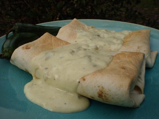 Baked chimichanga recipe chicken