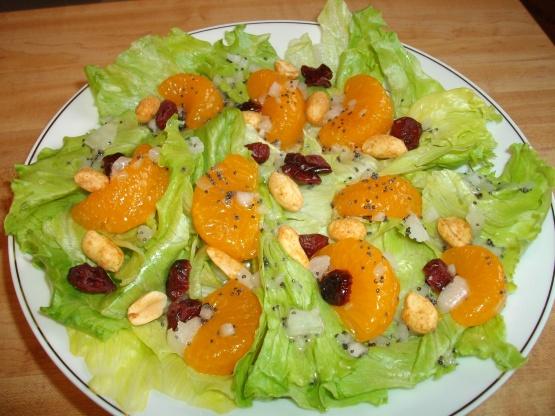 Recipes for mandarin orange salad