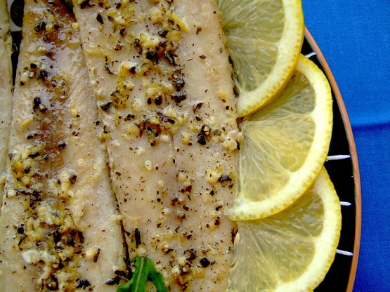 Lemon pepper fish greek style recipe greek genius kitchen for Greek fish recipes