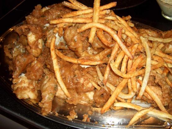 British beer battered fish n chips recipe genius kitchen for British fish and chips recipe