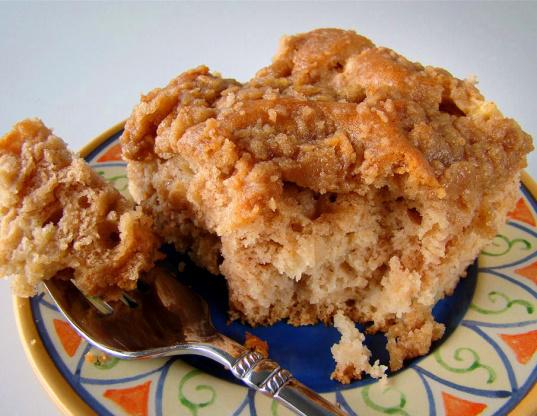 Recipe for an apple coffee cake