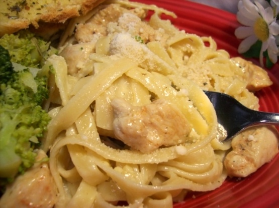 Chicken fettuccine alfredo recipes easy