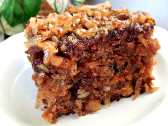 Carrot cake recipe with buttermilk