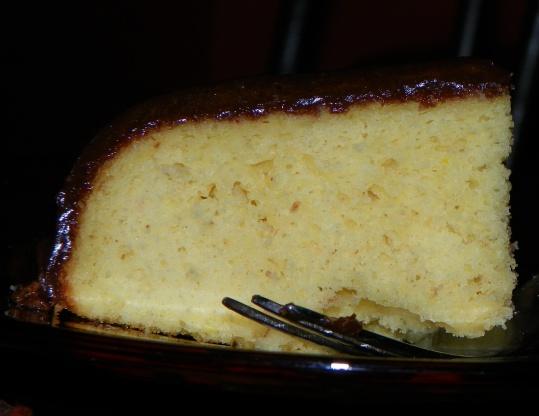 OldFashioned Yellow Cake With Chocolate Icing Recipe Genius Kitchen
