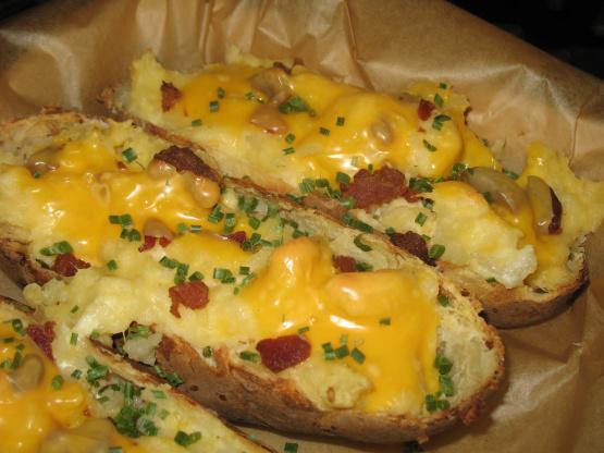 Garlic cheese potatoes recipes