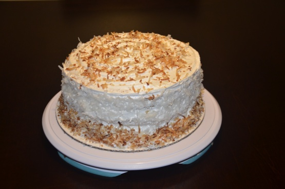 Coconut Cake With Pineapple Filling Recipe Food Com