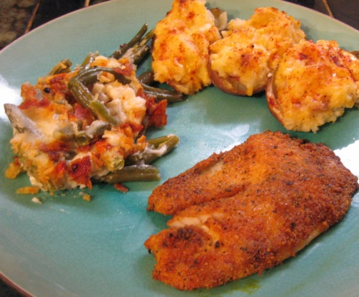 Baked fish fillets recipe genius kitchen for Stuffed fish fillets