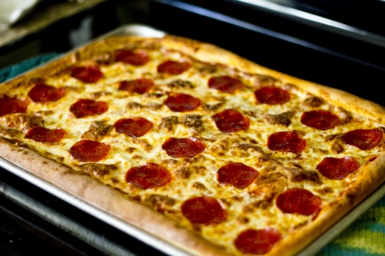 Copycat Pizza Hut Pan Pizza Recipe Genius Kitchen