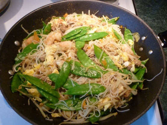 chicken mai fun noodles recipe