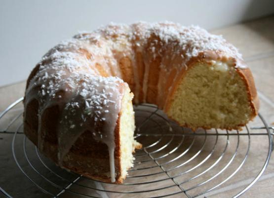 Cake Recipes With Icing Sugar: Coconut Bundt Cake With Powdered-Sugar Glaze Recipe