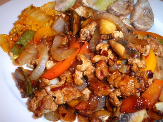 Spiced pork mince recipe