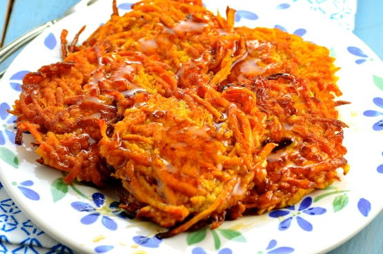 sweet potato latkes recipe easy