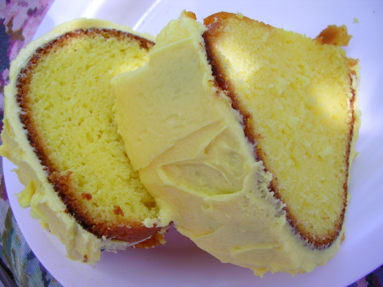 Warm Lemon Pudding Cake From Scratch