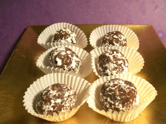 how to make chocolate apricot balls