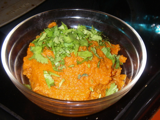 ginger carrot dip with moroccan carrot dip this dip is delicious i ...