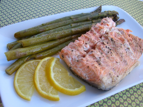 how to cook frozen salmon without foil