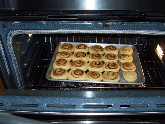 cinnamon rolls recipe for bread machine