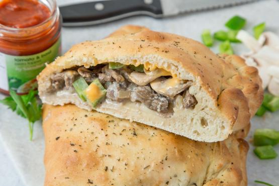 Cheesesteak Calzone Recipe - Food.com