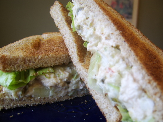 Kittencals tuna salad sandwiches recipe genius kitchen for How to make tuna fish sandwich