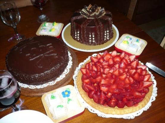 Fruit on the bottom cake recipe