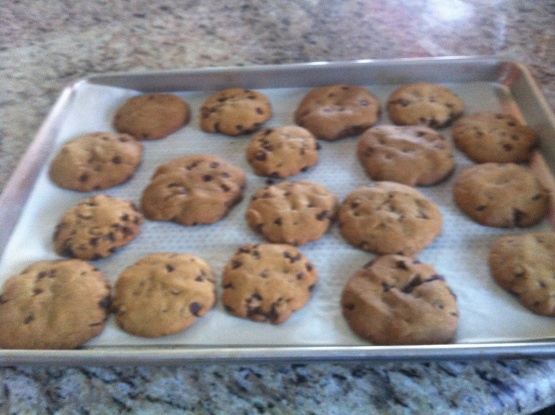 Easy Chocolate Chip Cookies From Scratch – Food.com