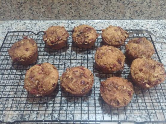 Strawberry Rhubarb Streusel Muffins Recipe - Genius Kitchen