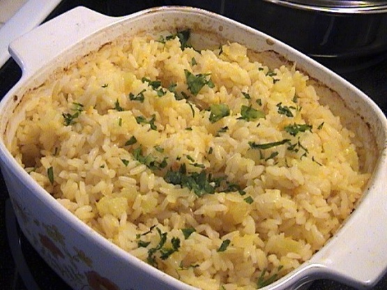how to cook baked rice