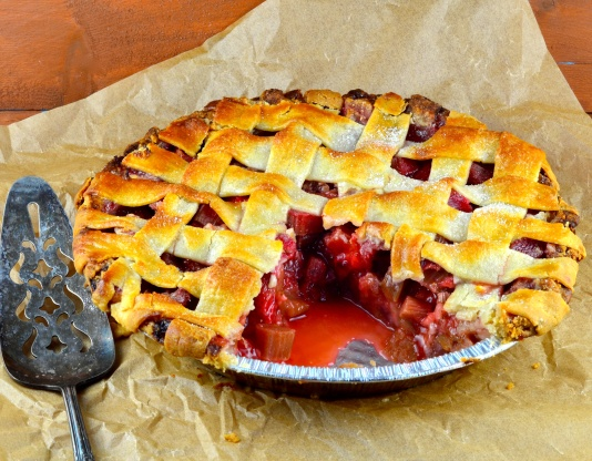 Strawberry Rhubarb Pie Recipe - Food.com
