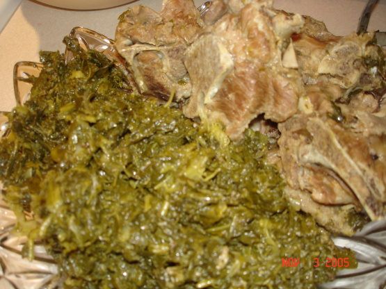 Soul Food Turnip Greens Recipe