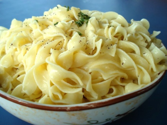 Quick read about buttered noodles
