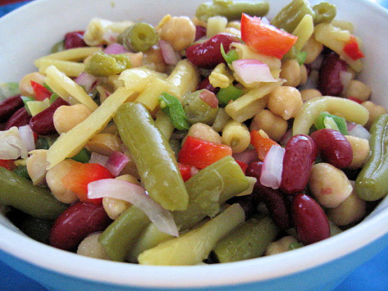 Three Bean Salad Recipe - Food.com