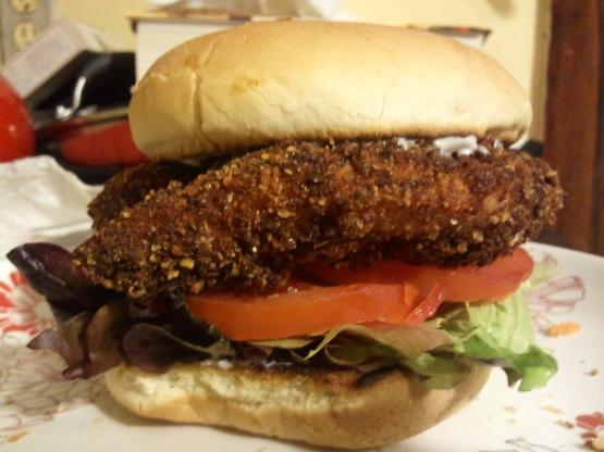 Wendys Spicy Chicken Fillet Sandwich By Todd Wilbur RecipeFood.com