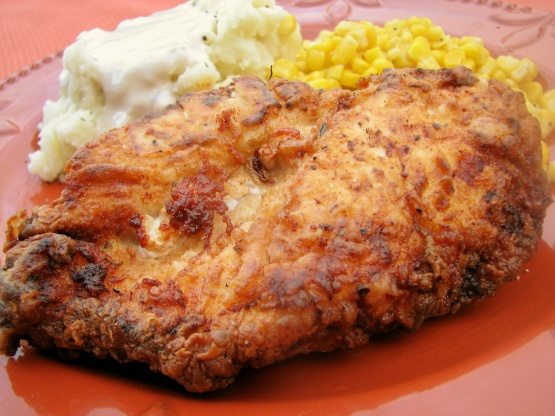 Recipe for chicken fried chicken breast